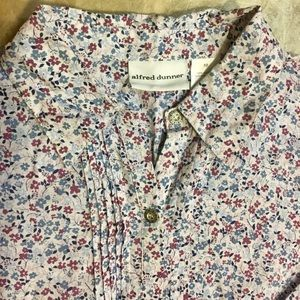 Women's Floral Blouse Alfred Dunner